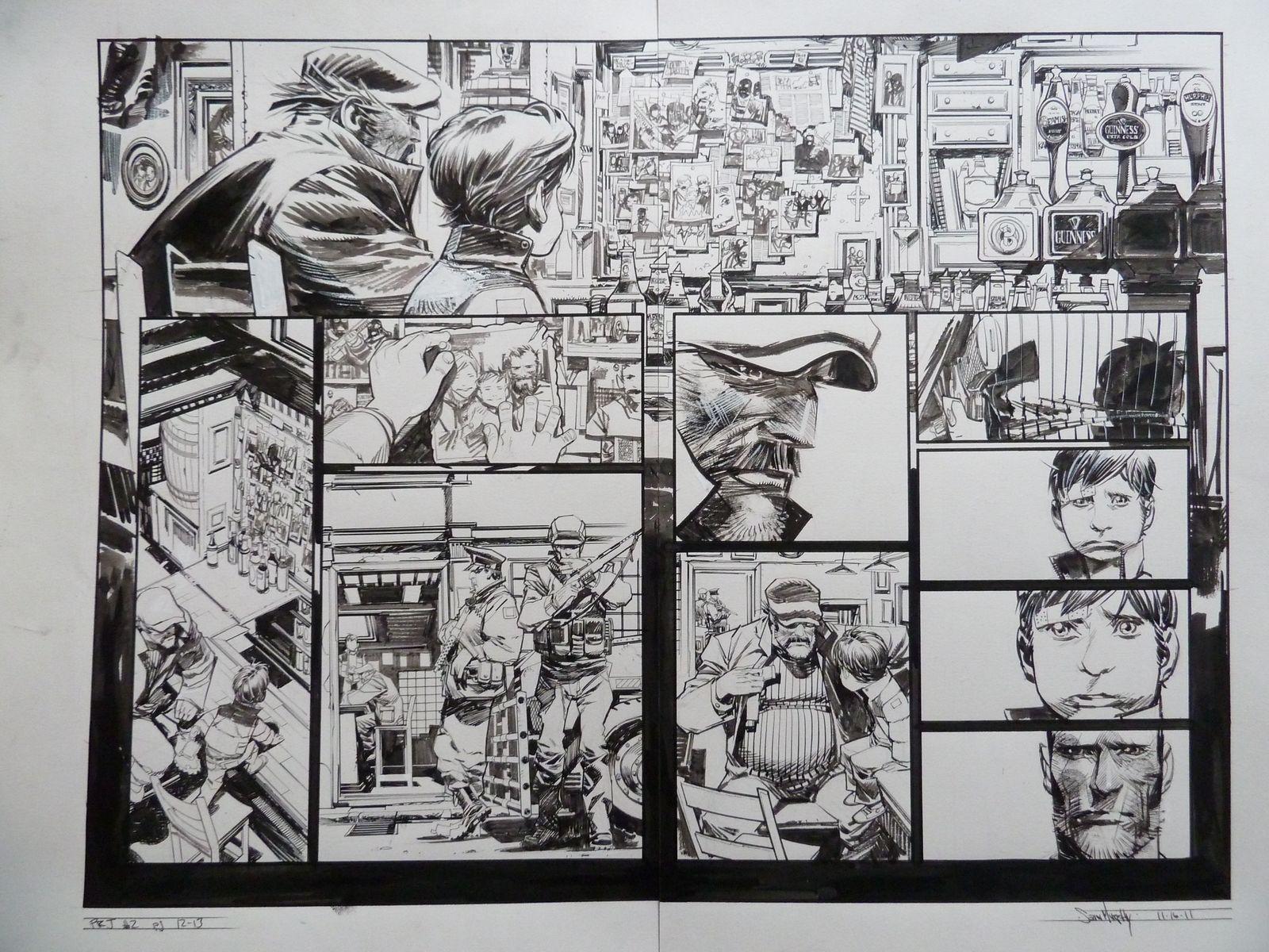 Punk Rock Jesus 2 Pg 12 13 In Loop S Sean Murphy Comic Art
