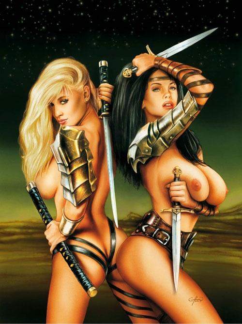Fantasy art of nude women and men-2801