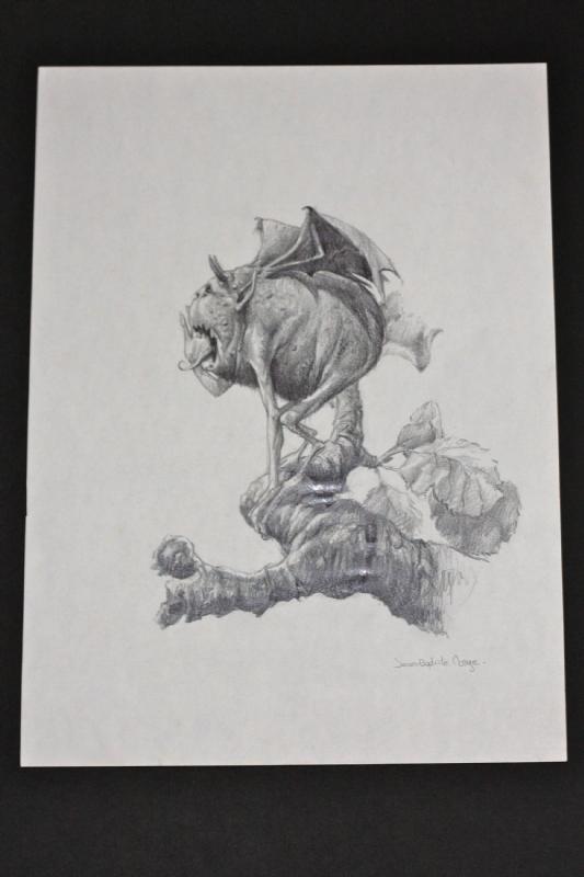 Monge Illustration Pour Le Livre Halloween In Daniel