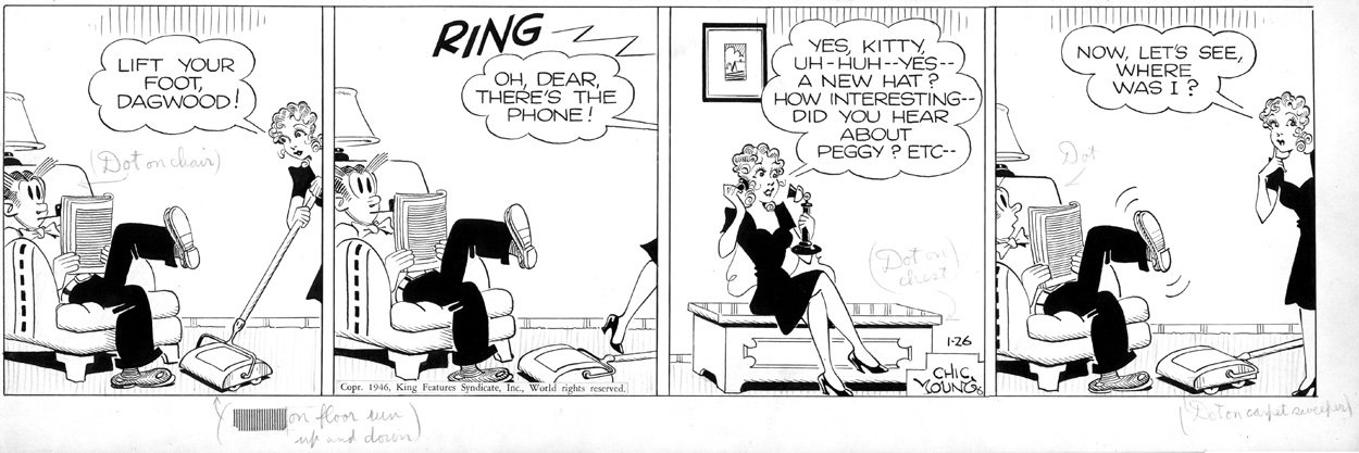 Blondie comic nude