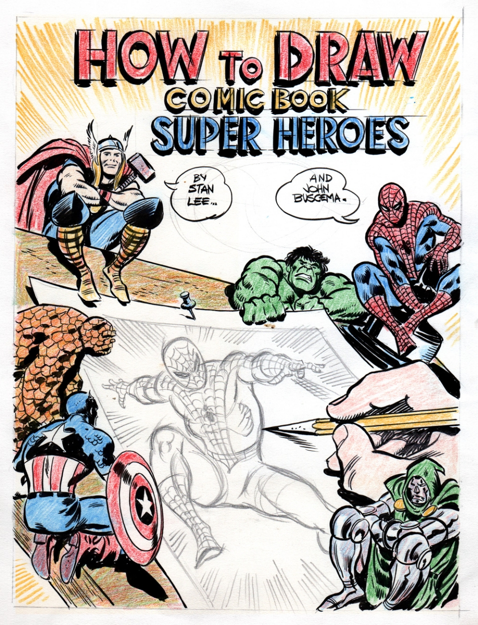 Draw Comic Book Cover Geek Stanito Com