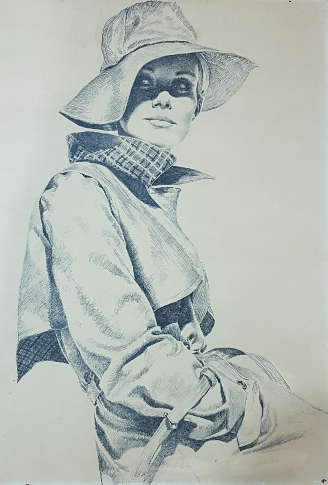 7ab1035c0 Pepe Gonzalez - Mujer con gabardina, in Diego Alatriste y Tenorio's ...