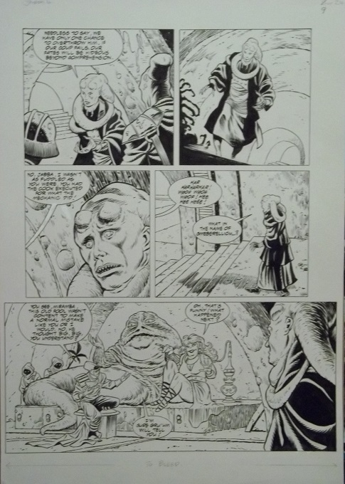 Dark Horse Star Wars Jabba The Hutt Betrayal Page 9, in
