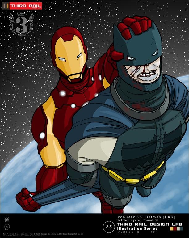 TRDL - Iron Man vs Dark Knight, in thom chiaramonte's TRDL