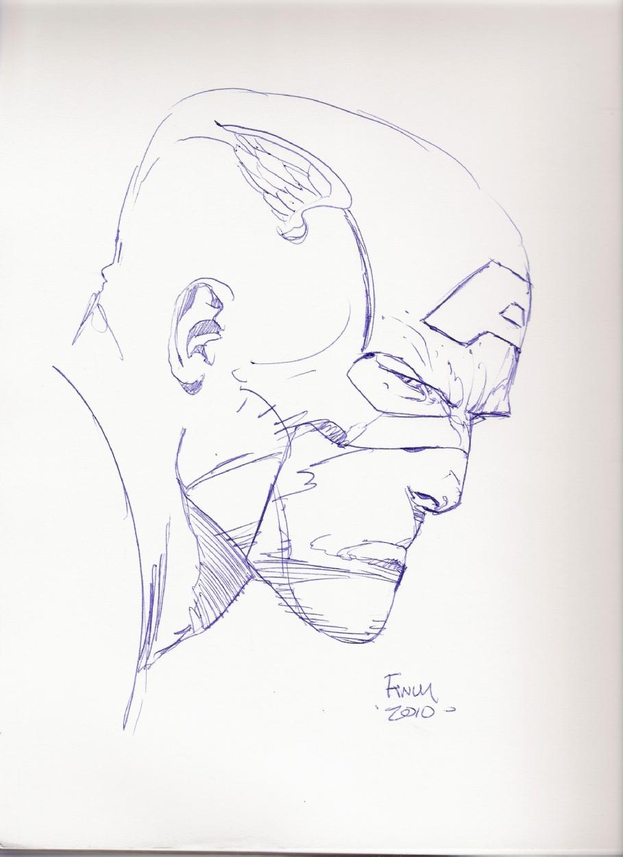 captain america head sketch in tim muir s sketches comic art