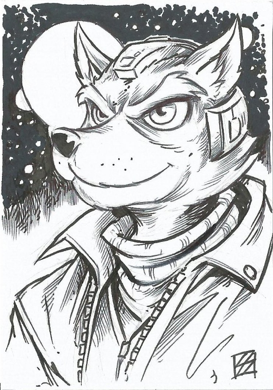 Fox Mccloud By Steve Sims In Martin Smith S Smash Bros
