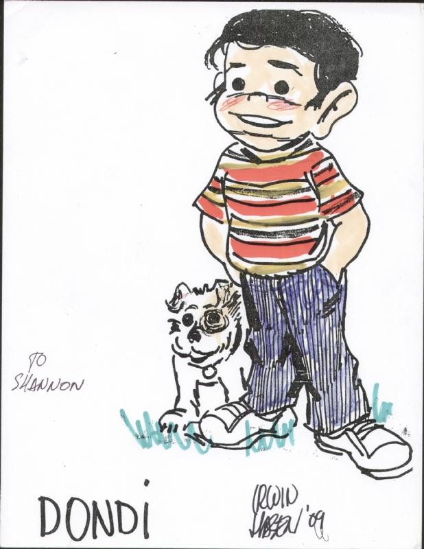Comic strip character dondi
