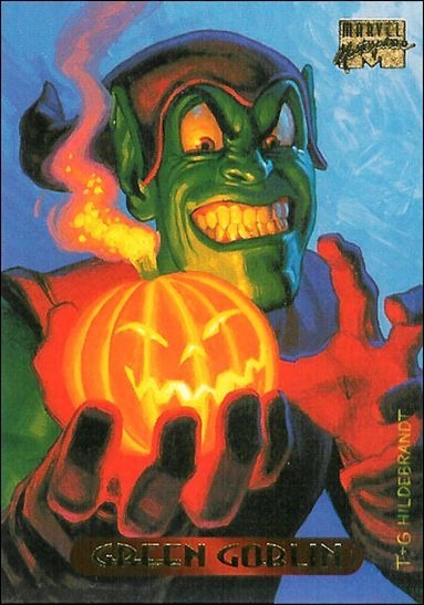 a33312f864a Wanted   1994 Marvel Masterpieces Green Goblin by the Hildebrandts ...