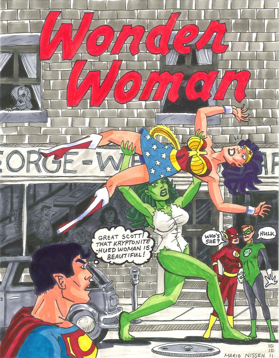 Hulk Wonder Woman