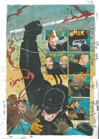 kupować uznane marki wyglądają dobrze wyprzedaż buty Daredevil - The Man Without Fear #5 pages 6 and 7 (1994 ...