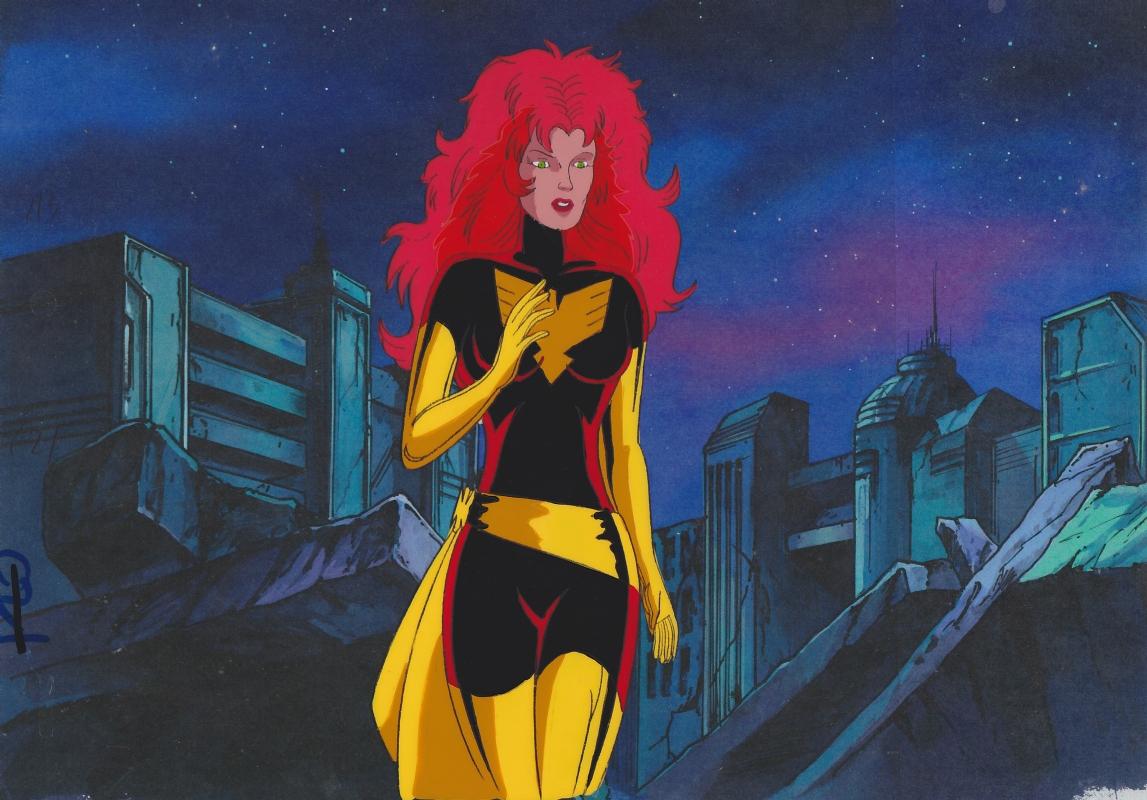 X Men The Animated Series Dark Phoenix Animation Cel In Ryan