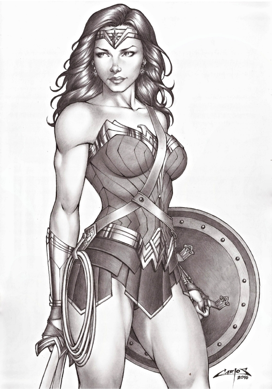 Wonder Woman , In Carlos Mesquitas My Sexy Pinup Comics -5426