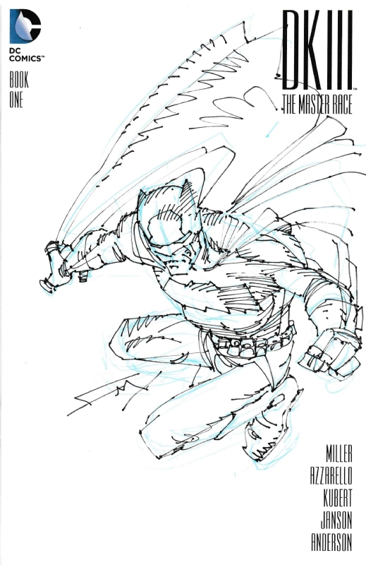 Batman The Dark Knight Returns DKIII Sketch Cover by Frank ...