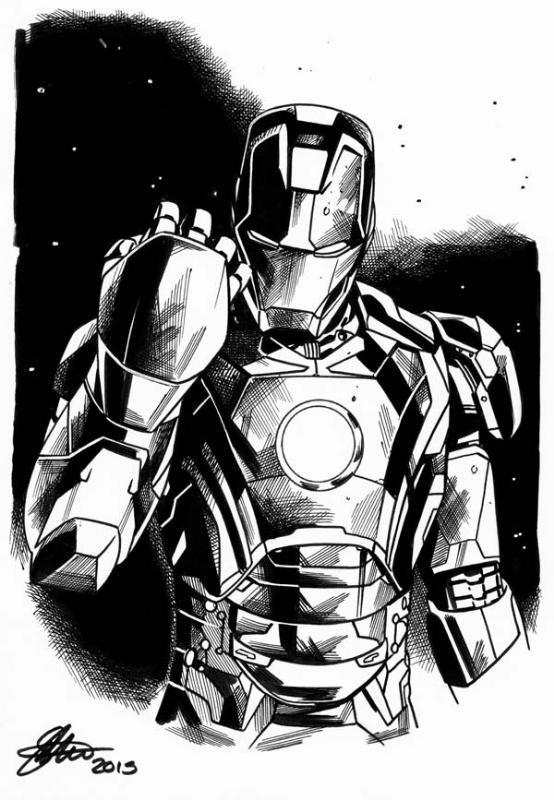 Ironman Avengers Age Of Ultron A5 David Golding 2015 In David